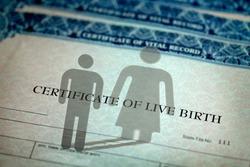 Change genders on birth certificate