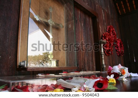 Changi prison chapel museum singapore stock photo for Amida house istanbul