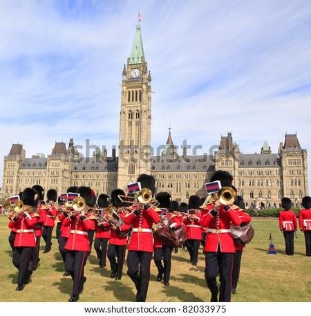 Changing Honor Guard, Parliament of Canada, Ottawa