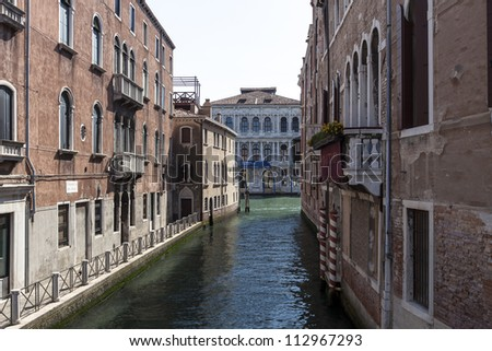 channel in Venice,Italy