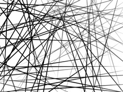 Chaotic Lines, Random Chaotic Lines, Scattered Lines, Random Chaotic Lines Asymmetrical Texture