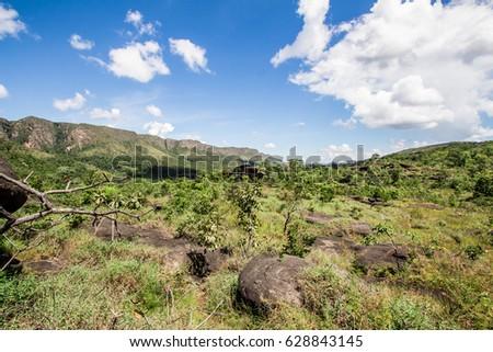 Shutterstock Chapada dos Veadeiros Mountain, Goias, Brazil. Cerrado