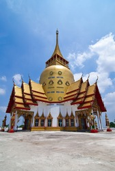 Chapel in Thailand Located in the temple. Are for a religious ceremony