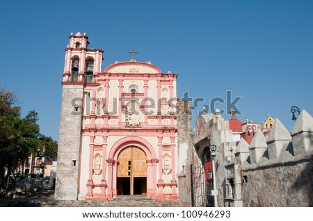 Chapel of the Third Order of St. Francis, Cuernavaca (Mexico)