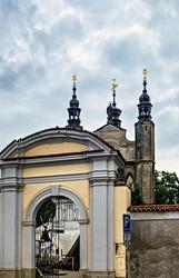Chapel Sedlec Kostnice Church a place Kutna Hora, Czech Republic.