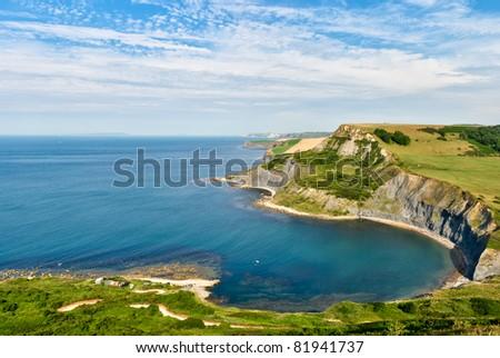 Chapman's Pool and the Dorset coast