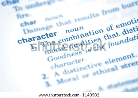 Character & Definition