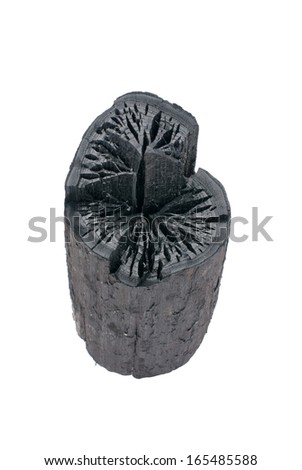 charcoal - stock photo