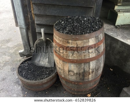 Charcoal that is used for mellowing Tennessee Whiskey