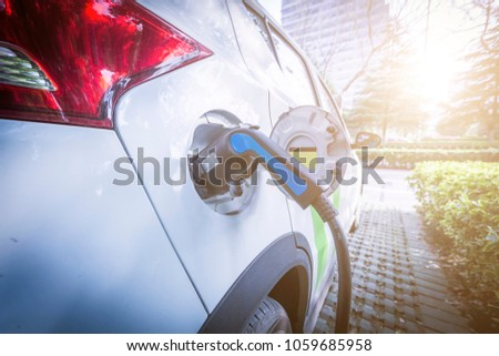 Charging an electric car battery