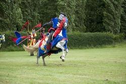 Charging knight