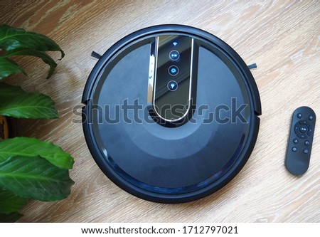 Charging station for robot vacuum cleaner Stock photo ©