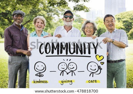 Charity Donations Fundraising Nonprofit Volunteer Concept #478818700