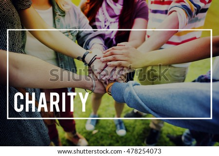 Charity Help Collaboration Assistance Aid Concept