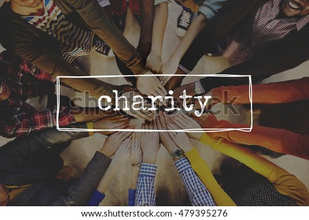 Charity Help Give Volunteer Concept