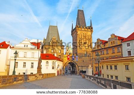 Charles Bridge,  Prague, Czech Republic #77838088