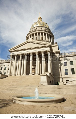Charleston, West Virginia - State Capitol Building.
