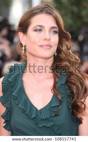 Charlotte Casiraghi arriving for the 'Madagascar 3' premiere- during the 65th Cannes Film Festival Cannes, France. 18/05/2012 Picture by: Henry Harris / Featureflash
