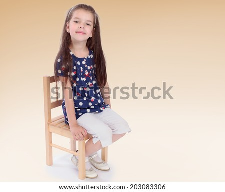 charming little girl in the studio.family joy, happy family,happiness concept,happy childhood,carefree childhood,active lifestyle