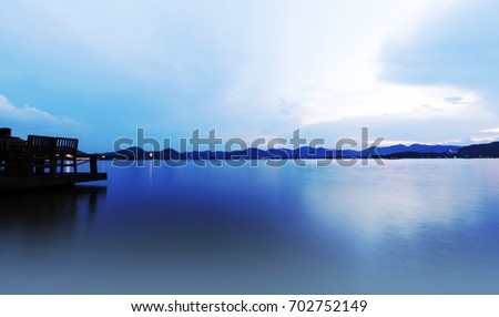 Charming West Lake, Hangzhou Zdjęcia stock ©