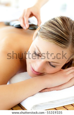 Lifestyle - Pagina 3 Stock-photo-charming-woman-having-a-massage-in-a-spa-55319335