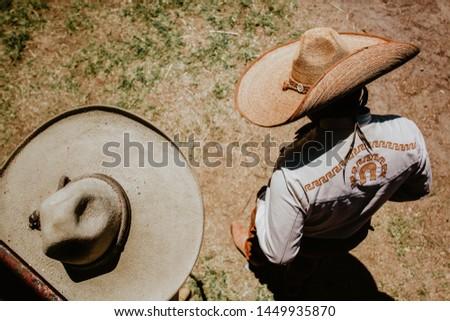 charro mexicano, mexican mariachi Mexico culture Foto stock ©