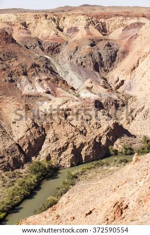 Charyn canyon  #372590554
