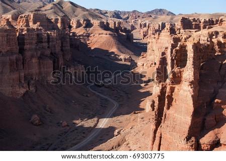 Charyn canyon in the Kazakhstan #69303775