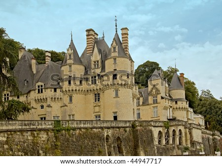Chateau d'Usse is the inspiration for the fairy-tale castle in Sleeping Beauty
