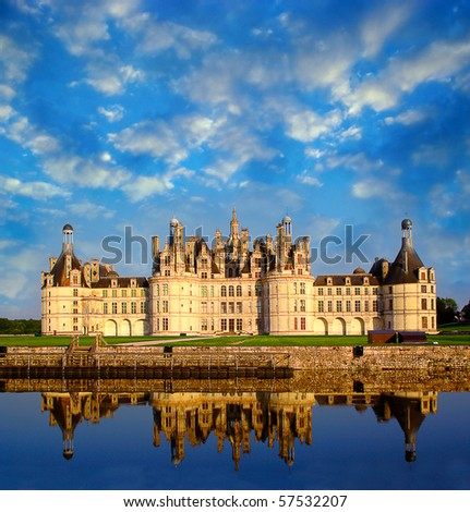 Chateau de Chambord, Loire Valley, France, UNESCO