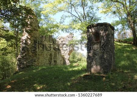 Chateau de Clermont also known as the   Chateau de la Grausse #1360227689
