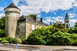 Chateau de Tours (11th century) is a castle located in city Tours, Indre-et-Loire, France.