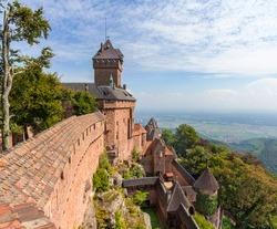 Chateau du Haut-Koenigsbourg - Alsace, France