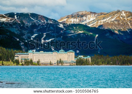 Chateau Lake Louise in Banff National Park #1010506765