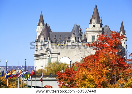 "Chateau Laurier"" in Ottawa"