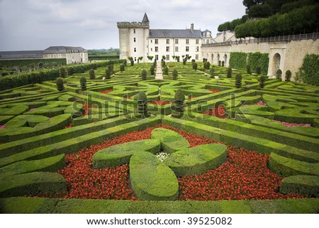 Chateau of Villandry, Loire Valley (France)