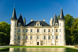 Chateau Pichon Longueville in region Medoc, France