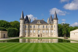 Chateau Pichon Longueville is a famous wine estate of Bordeaux wine. France