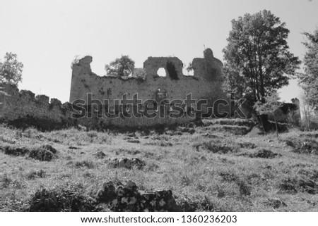 Chateau Saint-Barthelemy also known as the Chateau de Durban #1360236203