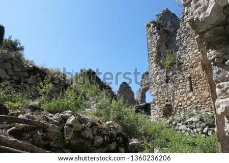 Chateau Saint-Barthelemy also known as the Chateau de Durban #1360236206