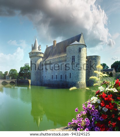Chateau Sully-sur-Loire, Loire Valley, France, World Heritage Site by UNESCO