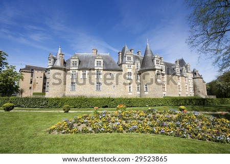 Chateaubriant Chateau, Brittany, Northern France