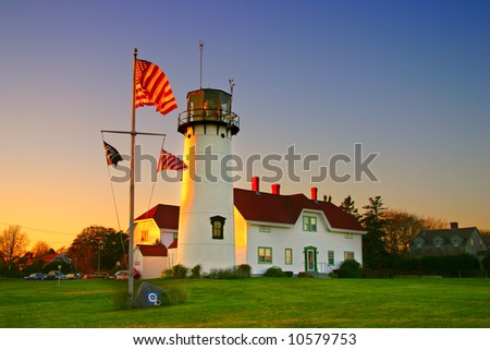 "Chatham Lighthouse is a lighthouse in Chatham, Massachusetts, near the ""elbow"" of Cape Cod."