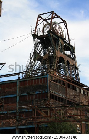 Chatterley Whitfield Colliery, disused coal mine,  Chell, Staffordshire,  Stoke on Trent. England, uk Photo stock ©