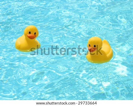 Chatting rubber ducks