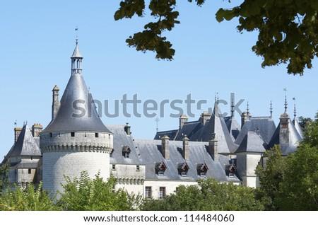 CHAUMONT SUR LOIRE, FRANCE - AUGUST 18: Castle on August 18, 2012 in Chaumont Sur Loire: Originally built in the 10th century, has undergone multiple renovations until reaching its present appearance.