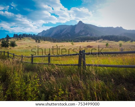 Chautauqua Trail Overlook - Flatirons, Boulder, CO