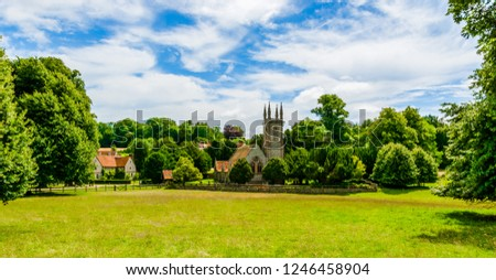 Photo of  Chawton, Hampshire, UK: St Nicholas Church, Jane Austen's Parish Church and the burial place of her mother and sister.