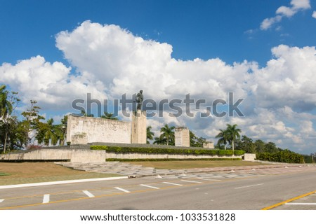 Shutterstock Che Guevara Memorial and Museum in Santa clara. Che Guevara was a commander in the Rebel Army who overthrew Batista from government in 1959.