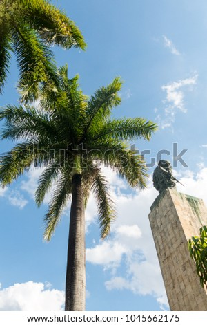 Shutterstock Che Guevara Memorial and Museum in Santa clara. Che Guevara was a commander in the Rebel Army who overthrew Batista from government in 1959. Santa Clara, Cuba
